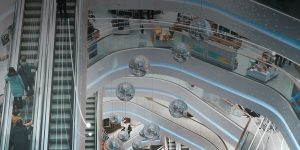 improve flow in shopping center