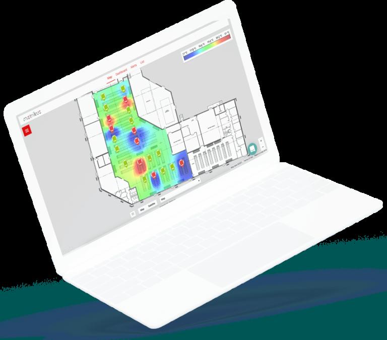 computer showing an IoT platform
