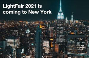 Lightfair 2021 event in New York`