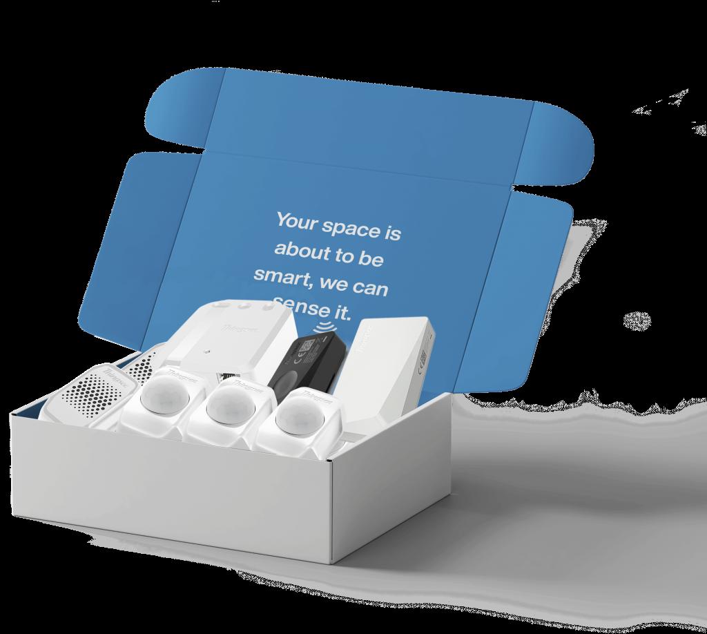 Metrikus Smart building starter kit with Haltian devices
