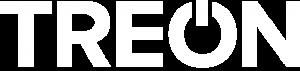 white logo of treon